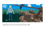 janefontane, jane fontane, young Australian artist, Sydney, newtown paddington, pop art, kudos gallery, college of fine arts, COFA, screenprint, blonde boy, original, war toys, laser, soldiers, retro games, wish to be young, goodbye